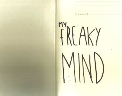 Creepy mind in a notebook