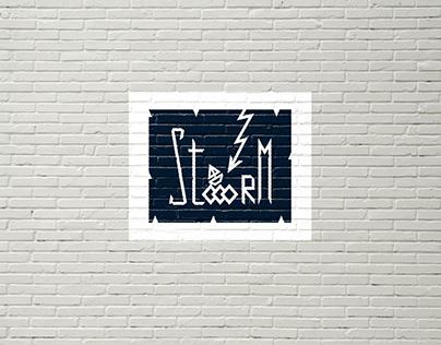 Stooorm Logotype Сlothing Brand