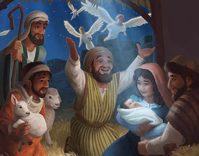 World Vision Christmas Card - Nativity