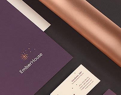 EmberHouse - Branding & Website