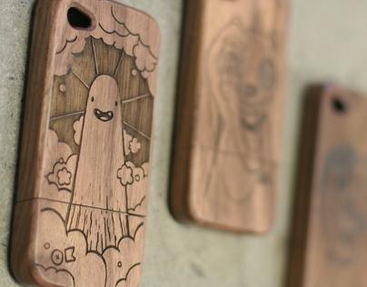 Okayboss Wooden iPhone Covers
