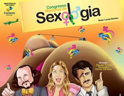 Cartaz I Congresso Nacional de Sexologia