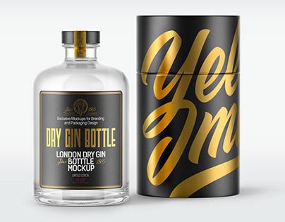 7 Spirits Bottles with Paper Tube