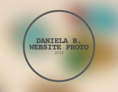 DANIELA B. WEBSITE PHOTO
