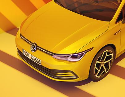 Volkswagen Golf 8 - CGI