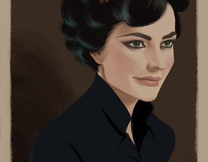 Miss Peregrine I Adore you! (fanart)