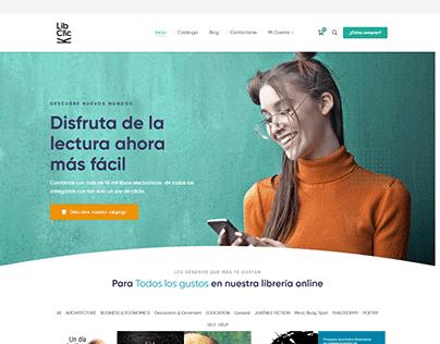 Sitio Web libclick