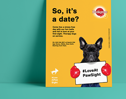 Brand Campaign | Pedigree #LoveAtPawSight