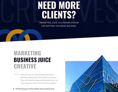 Business web site design