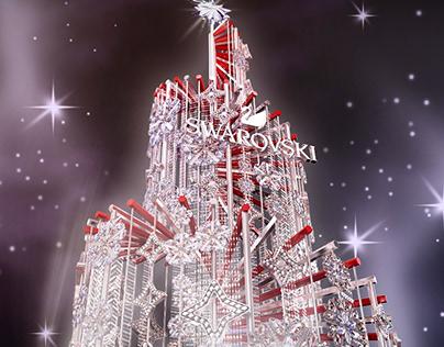 SWAROVSKI 2017 Beijing Christmas Tree