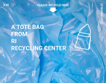 Scro: a tote from recycled materials