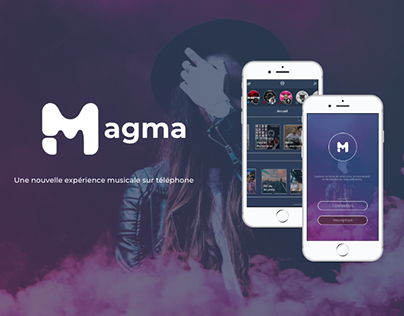 Magma - Music Application