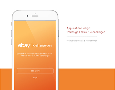 eBay Kleinanzeigen / Application Redesign