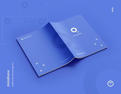 mindnow - Branding & Landing Page