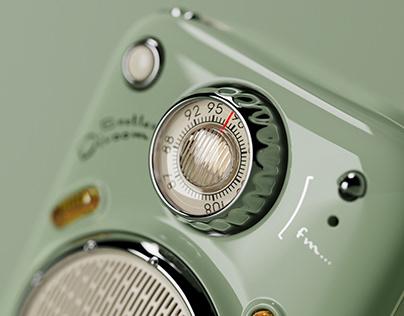 divoom Beetles-fm/甲壳虫复古收音机