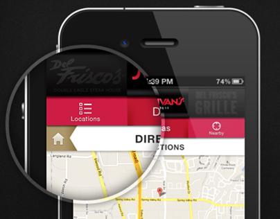 Del Frisco's Restaurant Group Mobile Website