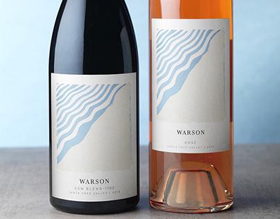 Warson Wine Packaging Design & Logo