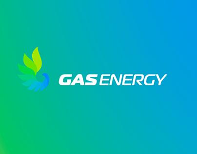 """Брендинг для АЗС """"GasEnergy"""""""