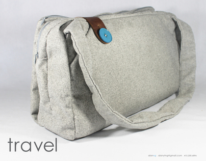 Travel . A New Approach to the Old Messenger Bag