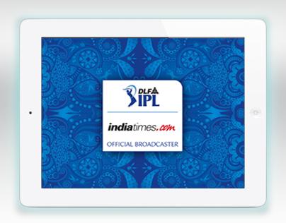 IPL 2012-13 Indiatimes Official iPad App