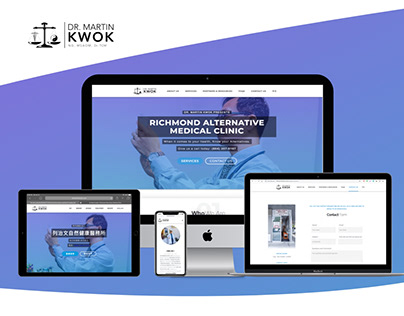 Richmond Alternative Medical Clinic - Web Design