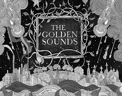 Burn Inside the Lake album(3D) Band: The Golden Sounds