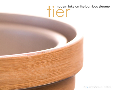 Tier . Space-Saving Bamboo Steamer