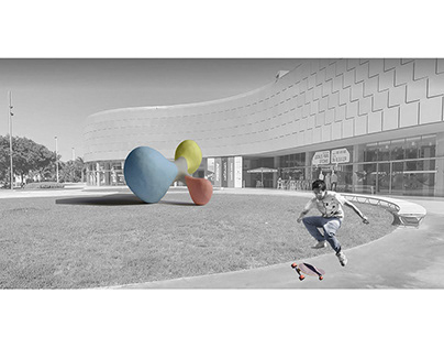 Competition project. Sculpture in Elche
