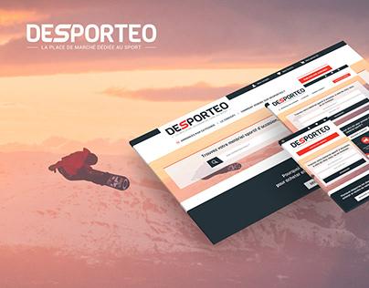 Web design Desporteo