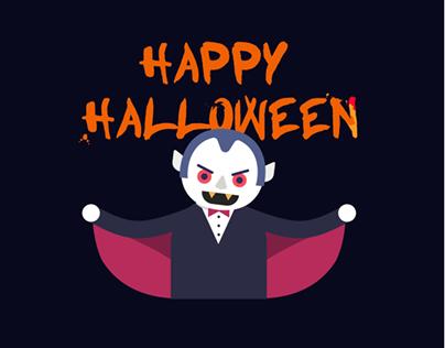 Animated Halloween Characters