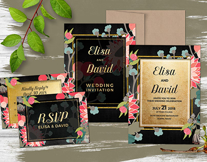 Wedding Invitation Cards (Collection)