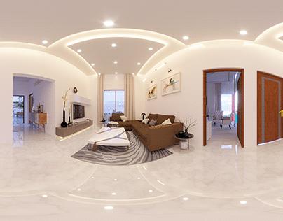Simple Minimlist Interior Render By Wahab Ahmad