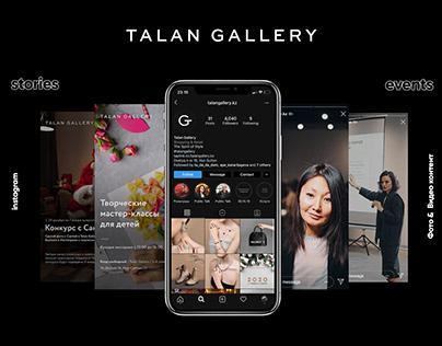 Talan Gallery / Social media content