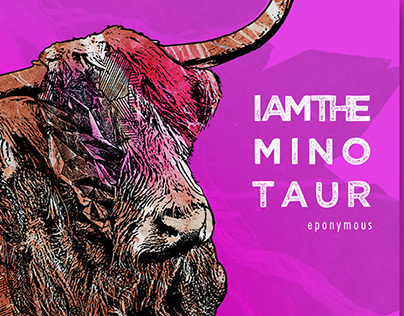 Sleeve design I AM THE MINOTAUR