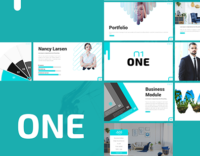One Powerpoint Presentation Template
