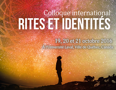 Poster for an event of the Université Laval