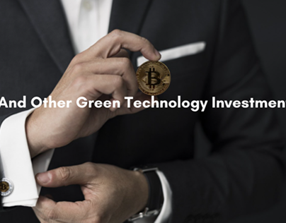 Idan Vidoser Discusses Bitcoin And Other Green Technolo