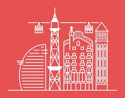 Barcelona & Costa Brava Icons