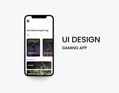 Gaming App UI