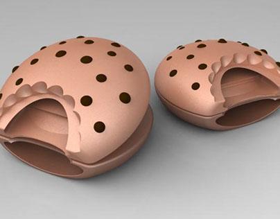 Chocolate Chip Oven Mitt
