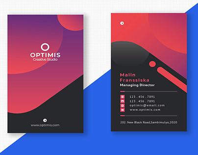 Sample Business Card