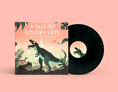 A Tale Of Golden Keys – COVER ARTWORK