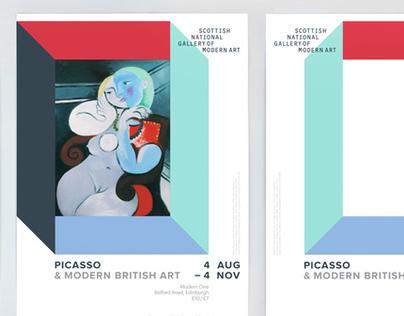 Picasso & Modern British Art / National Galleries