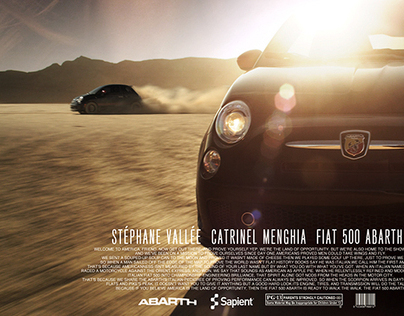 Fiat ABARTH - Behind The Scenes