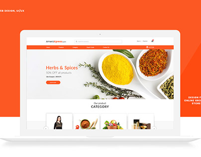 UX/UI Design For Online Grocery Store