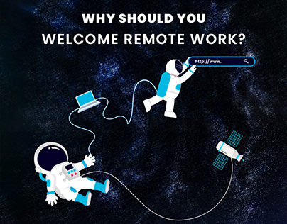 Why should you welcome remote work? | Book Design