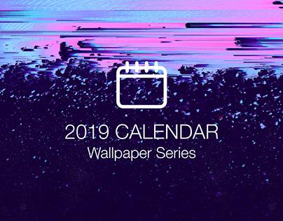 Desktop Calendar Series   2019