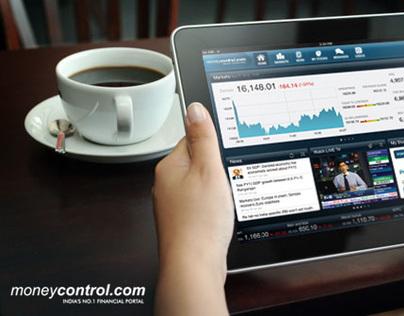 moneycontrol.com - iPad app