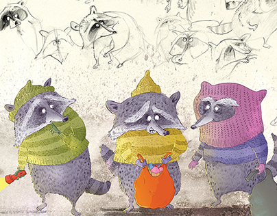Raccoon Raid | Character Design