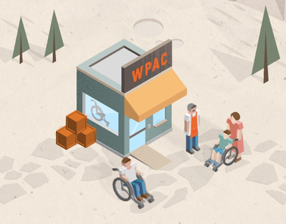 Wheelchair Provision & Assembly Center Animation